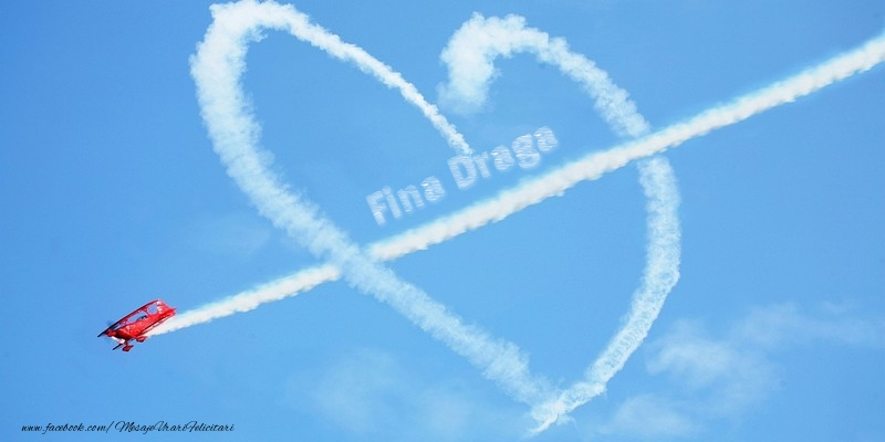 Felicitari frumoase de dragoste pentru Fina   Fina draga