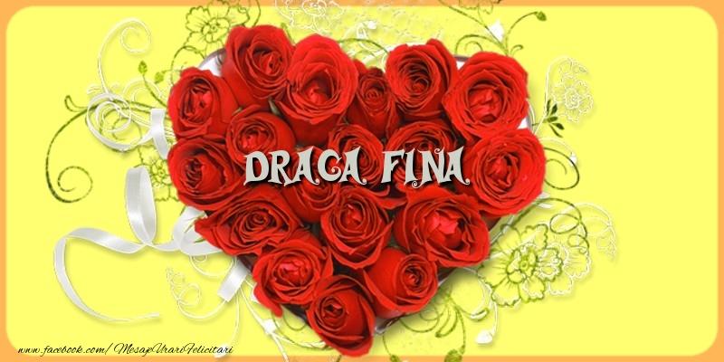 Felicitari frumoase de dragoste pentru Fina | Draga fina
