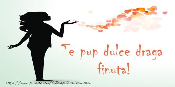 Felicitari frumoase de dragoste pentru Fina | Te pup dulce draga finuta!