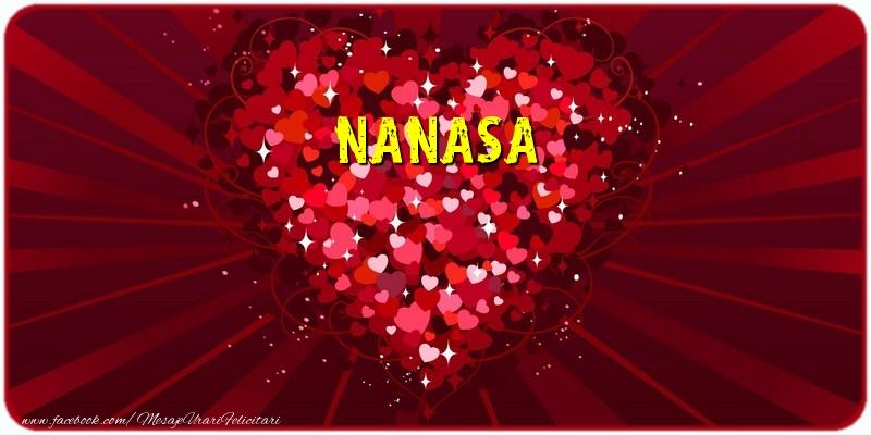 Felicitari frumoase de dragoste pentru Nasa | Nanasa
