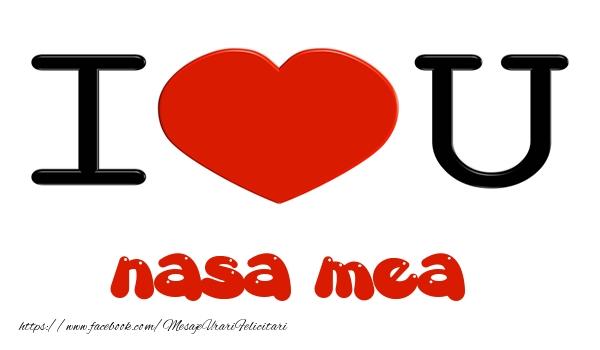Felicitari frumoase de dragoste pentru Nasa | I love you nasa mea