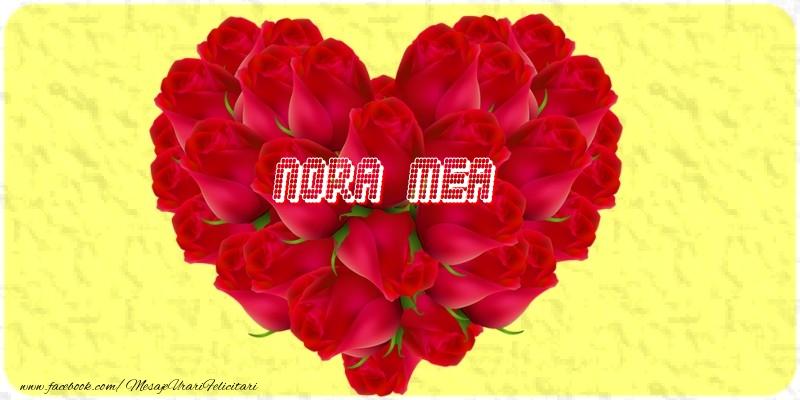 Felicitari frumoase de dragoste pentru Nora | Nora mea