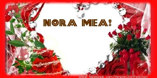 Felicitari frumoase de dragoste pentru Nora | Love nora mea!
