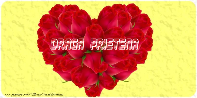 Felicitari frumoase de dragoste pentru Prietena | Draga prietena