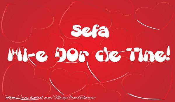 Felicitari frumoase de dragoste pentru Sefa | Sefa mi-e dor de tine!