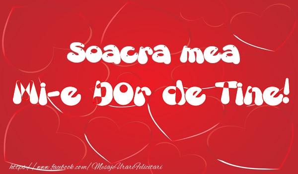 Felicitari frumoase de dragoste pentru Soacra | Soacra mea mi-e dor de tine!