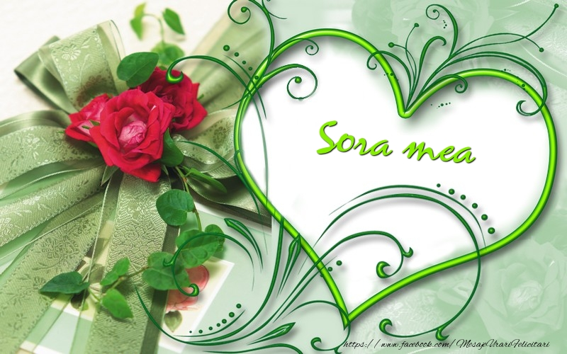 Felicitari frumoase de dragoste pentru Sora | Sora mea
