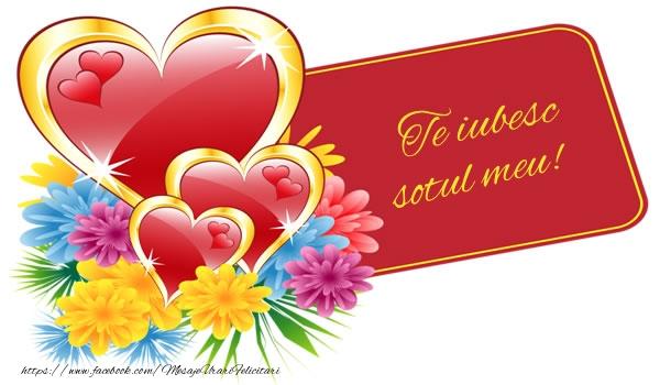 Felicitari frumoase de dragoste pentru Sot | Te iubesc sotul meu!