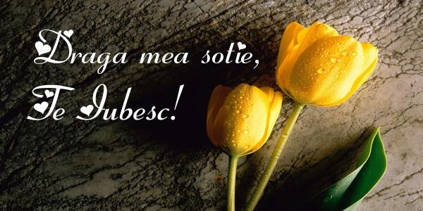 Felicitari frumoase de dragoste pentru Sotie | Draga mea sotie, Te iubesc!