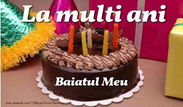Felicitari frumoase de la multi ani pentru Baiat | La multi ani, baiatul meu