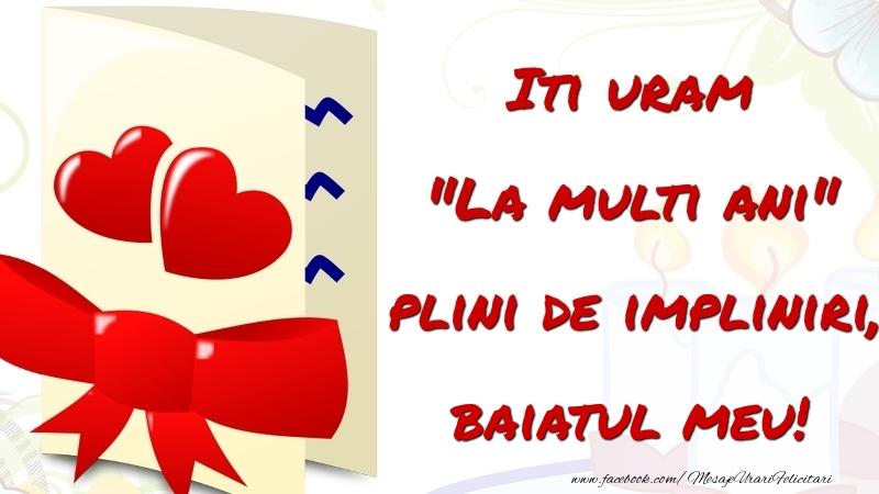 Felicitari frumoase de la multi ani pentru Baiat | Iti uram