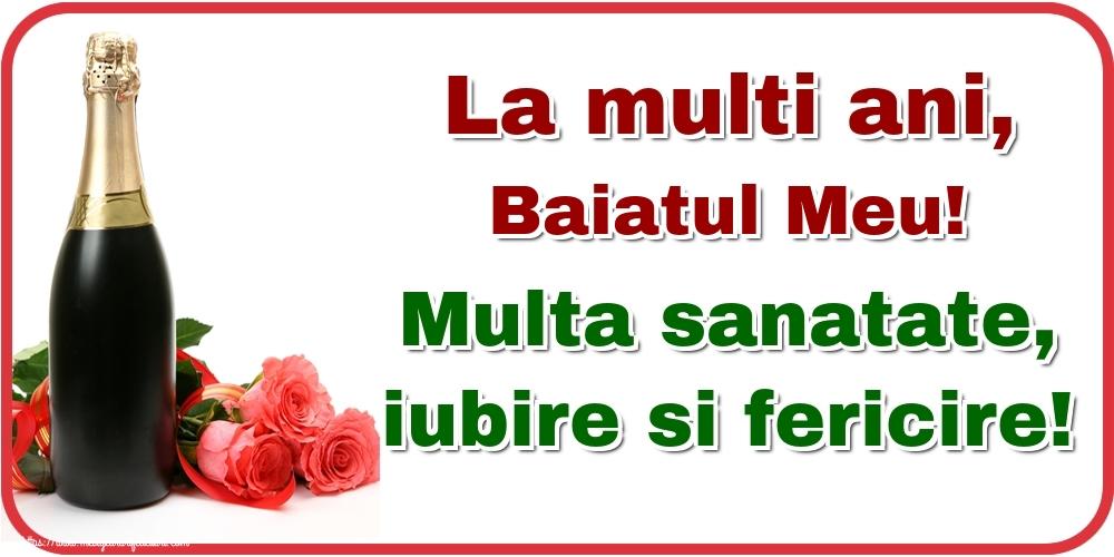 Felicitari frumoase de la multi ani pentru Baiat | La multi ani, baiatul meu! Multa sanatate, iubire si fericire!