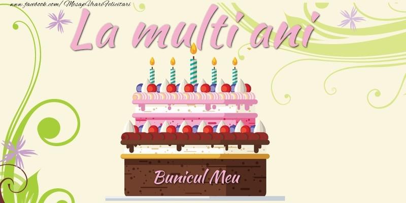 Felicitari frumoase de la multi ani pentru Bunic | La multi ani, bunicul meu!
