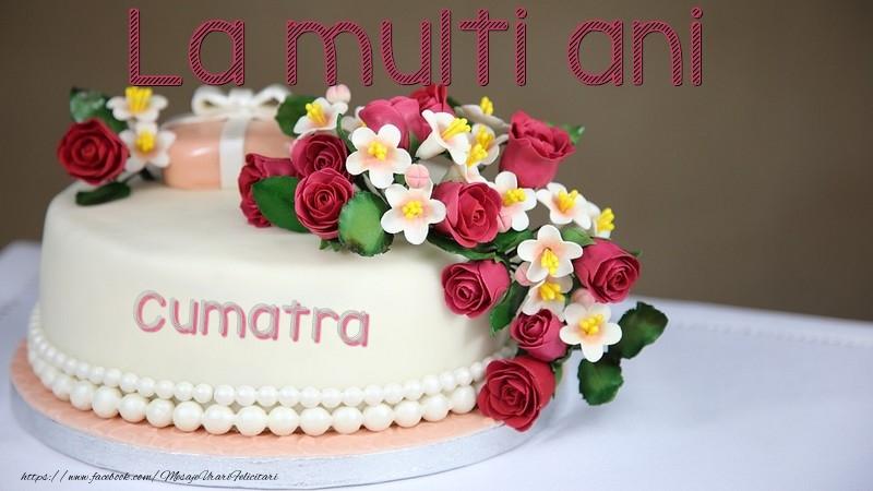 Felicitari frumoase de la multi ani pentru Cumatra | La multi ani, cumatra!
