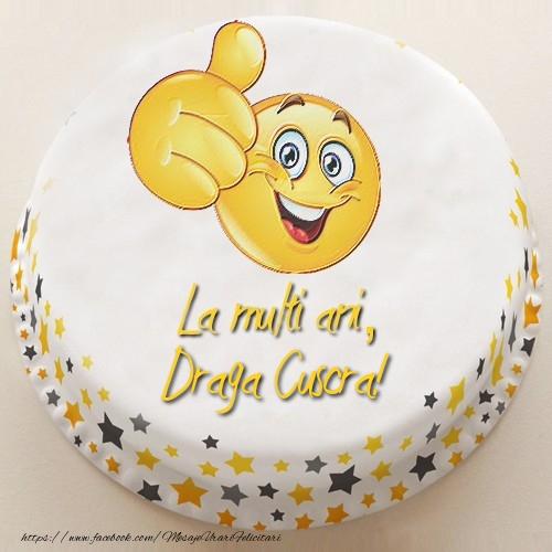 Felicitari frumoase de la multi ani pentru Cuscra | La multi ani, draga cuscra!