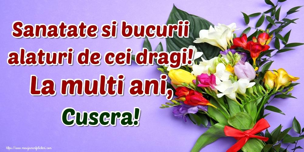 Felicitari frumoase de la multi ani pentru Cuscra | Sanatate si bucurii alaturi de cei dragi! La multi ani, cuscra!