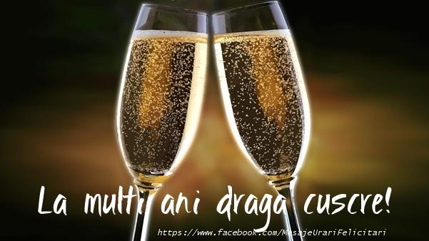 Felicitari frumoase de la multi ani pentru Cuscru | La multi ani draga cuscre!
