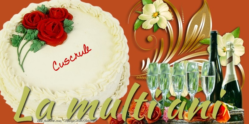 Felicitari frumoase de la multi ani pentru Cuscru | La multi ani, cuscrule!