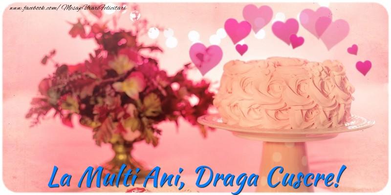 Felicitari frumoase de la multi ani pentru Cuscru | La multi ani, draga cuscre!