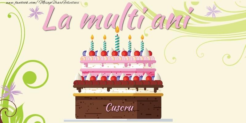Felicitari frumoase de la multi ani pentru Cuscru | La multi ani, cuscru!