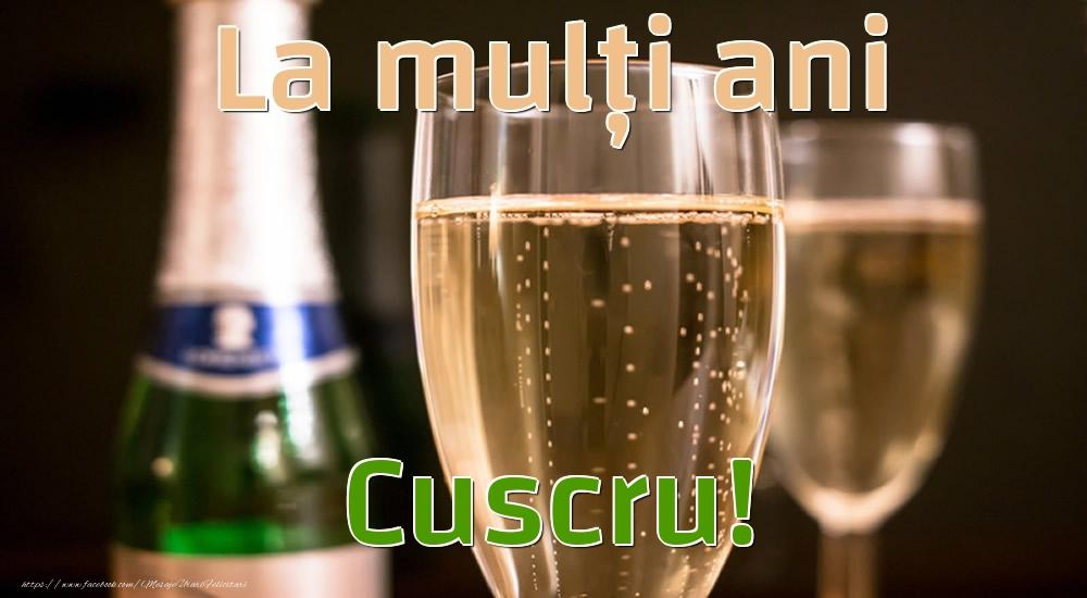 Felicitari frumoase de la multi ani pentru Cuscru | La mulți ani cuscru!