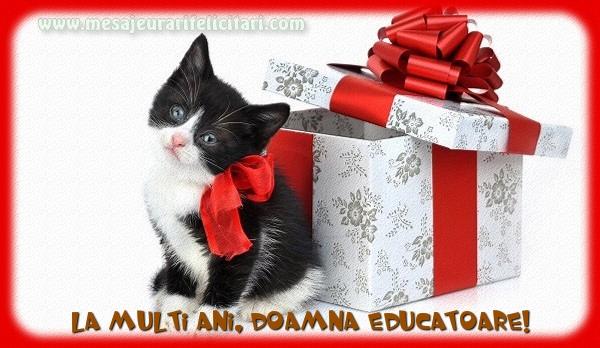Felicitari frumoase de la multi ani pentru Educatoare | La multi ani, doamna educatoare!