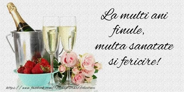 Felicitari frumoase de la multi ani pentru Fin | La multi ani finule Multa sanatate si fericire!