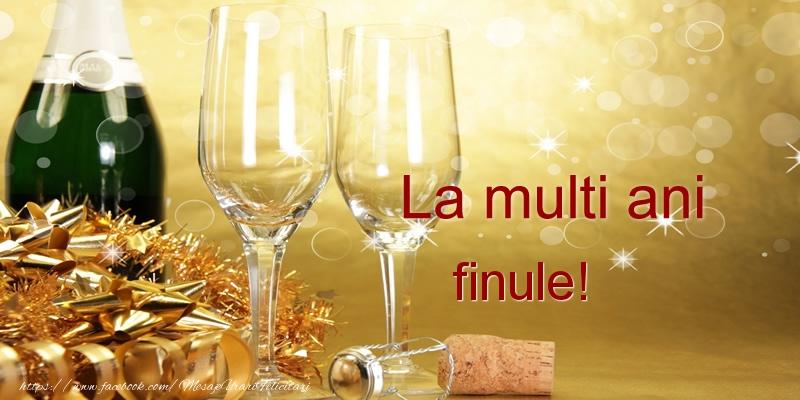 Felicitari frumoase de la multi ani pentru Fin | La multi ani finul meu!