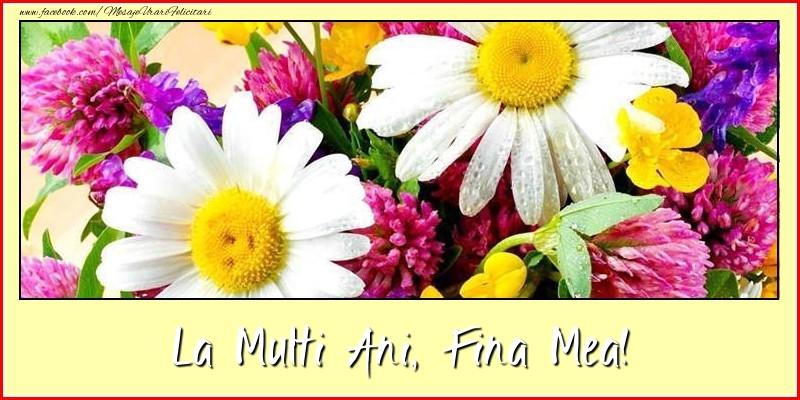 Felicitari frumoase de la multi ani pentru Fina | La multi ani, fina mea!