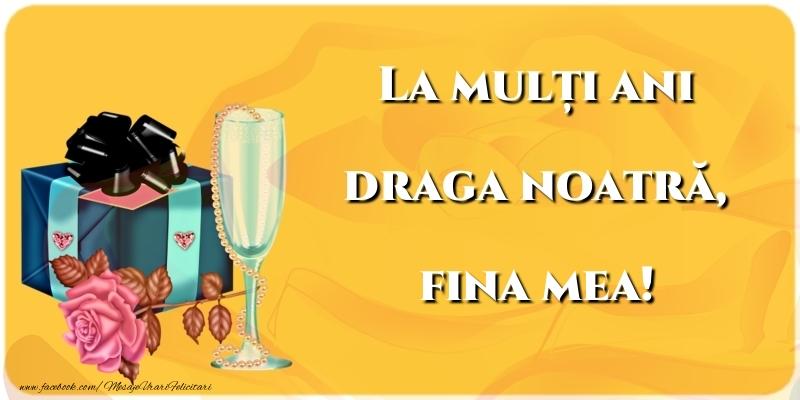 Felicitari frumoase de la multi ani pentru Fina | La mulți ani draga noatră, fina mea