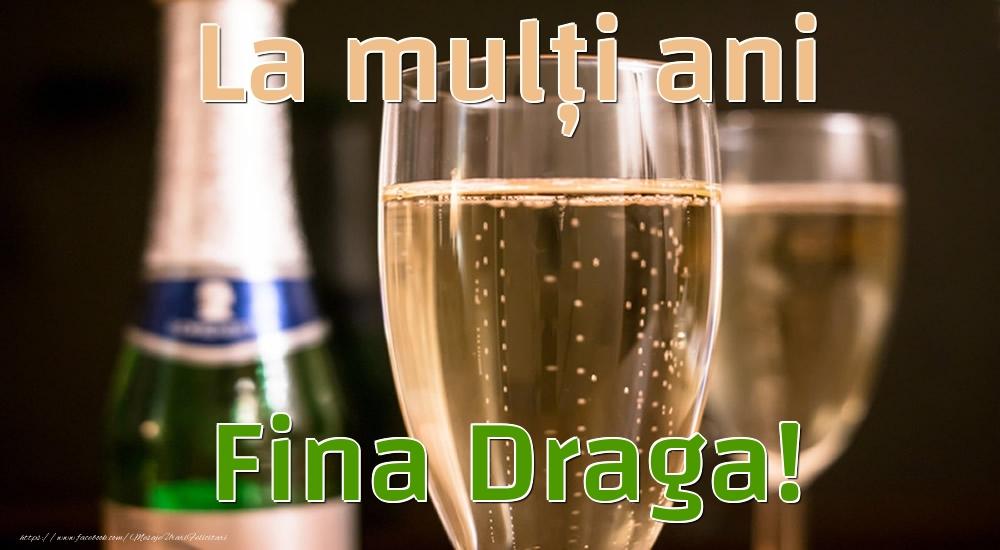 Felicitari frumoase de la multi ani pentru Fina | La mulți ani fina draga!