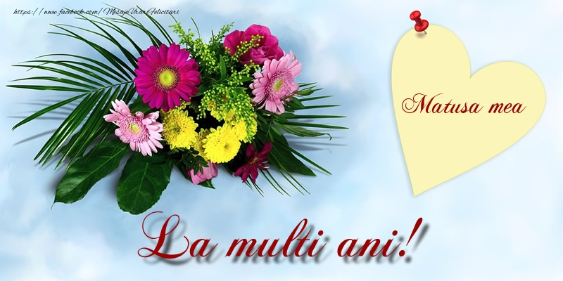 Felicitari frumoase de la multi ani pentru Matusa | Matusa mea La multi ani!