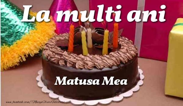Felicitari frumoase de la multi ani pentru Matusa | La multi ani, matusa mea