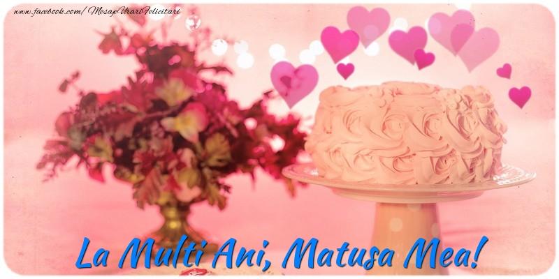 Felicitari frumoase de la multi ani pentru Matusa | La multi ani, matusa mea!