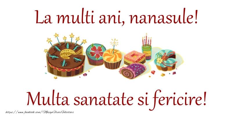 Felicitari frumoase de la multi ani pentru Nas | La multi ani, nanasule! Multa sanatate si fericire!