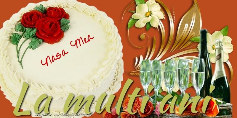 Felicitari frumoase de la multi ani pentru Nasa | La multi ani, nasa mea!