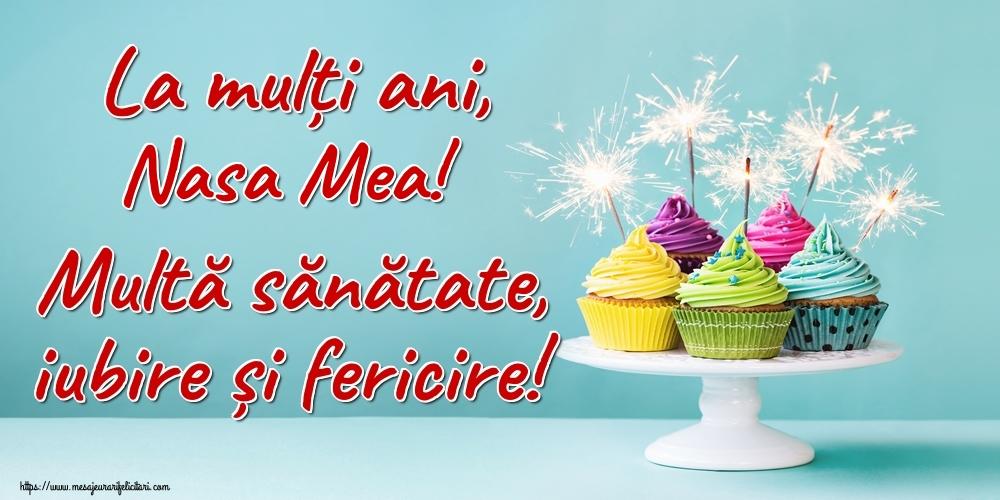 Felicitari frumoase de la multi ani pentru Nasa | La mulți ani, nasa mea! Multă sănătate, iubire și fericire!