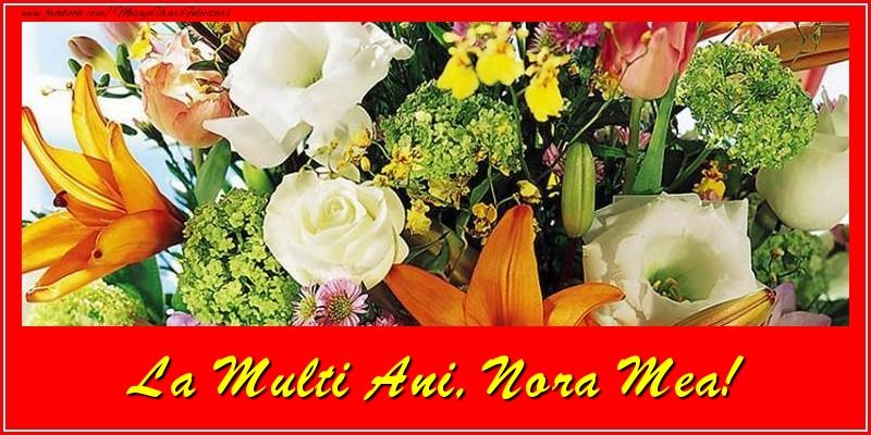 Felicitari frumoase de la multi ani pentru Nora | La multi ani, nora mea!