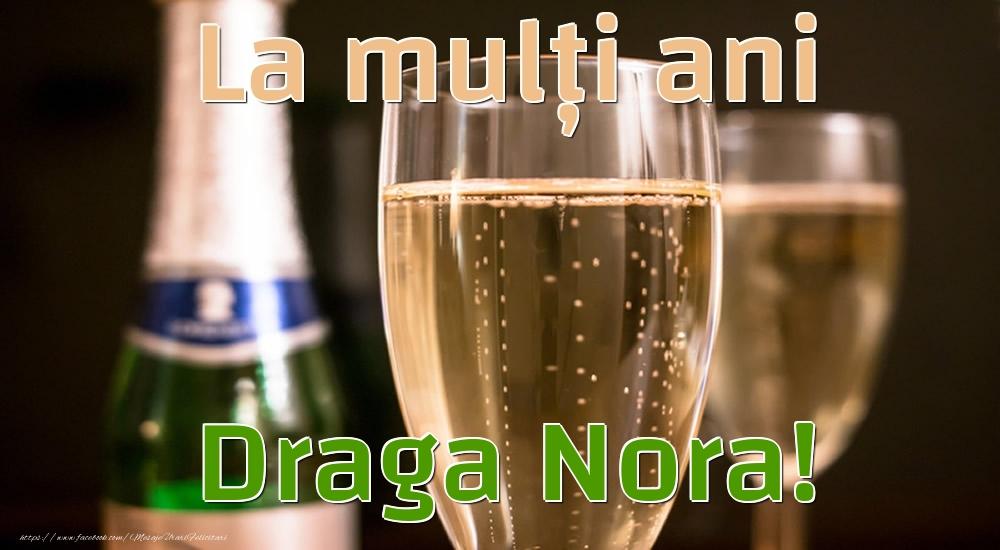 Felicitari frumoase de la multi ani pentru Nora | La mulți ani draga nora!