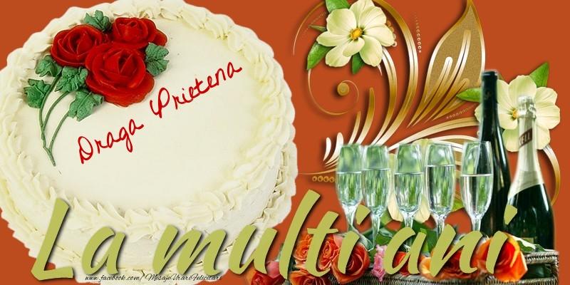 Felicitari frumoase de la multi ani pentru Prietena | La multi ani, draga prietena!