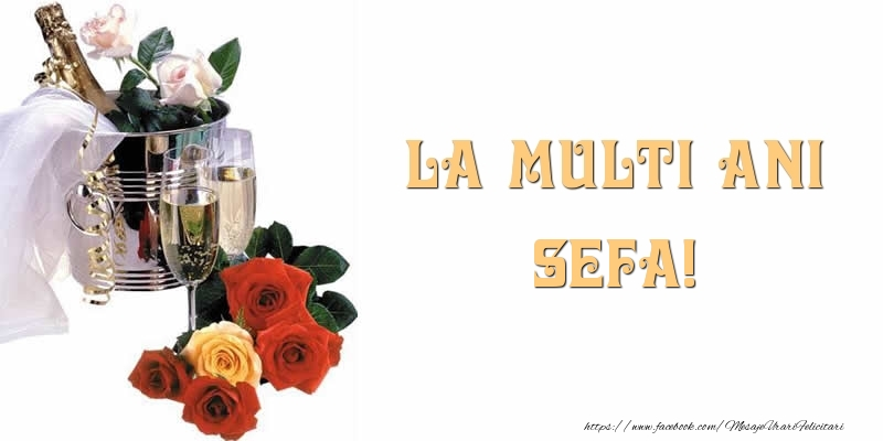 Felicitari frumoase de la multi ani pentru Sefa | La multi ani sefa!
