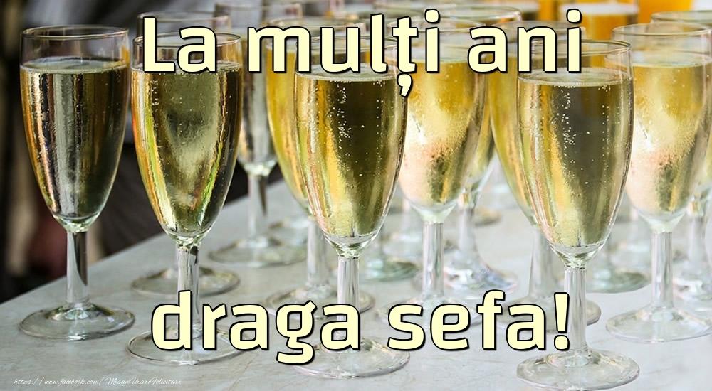 Felicitari frumoase de la multi ani pentru Sefa | La mulți ani draga sefa!