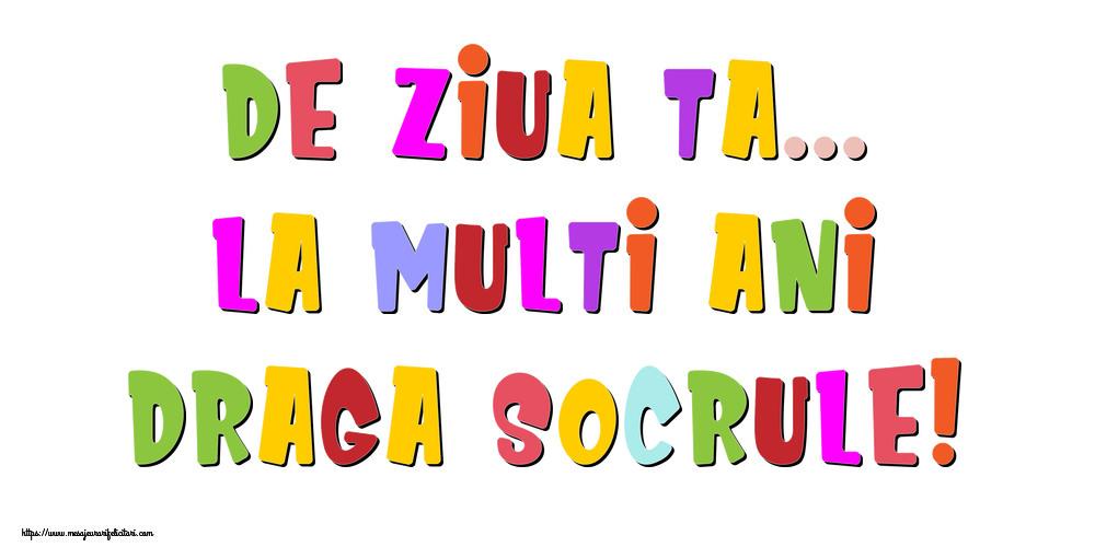 Felicitari frumoase de la multi ani pentru Socru | De ziua ta... La multi ani, draga socrule!