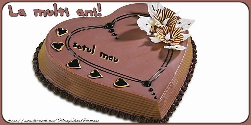 Felicitari frumoase de la multi ani pentru Sot   La multi ani, sotul meu