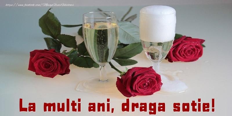 Felicitari frumoase de la multi ani pentru Sotie | La multi ani, draga sotie!