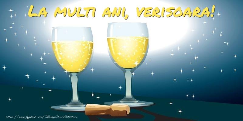 Felicitari frumoase de la multi ani pentru Verisoara   La multi ani, verisoara!