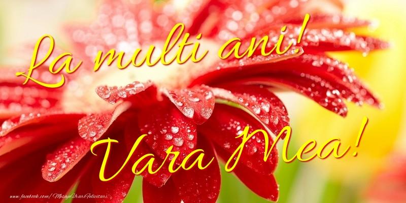 Felicitari frumoase de la multi ani pentru Verisoara | La multi ani! vara mea