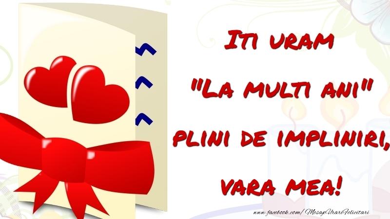 Felicitari frumoase de la multi ani pentru Verisoara | Iti uram