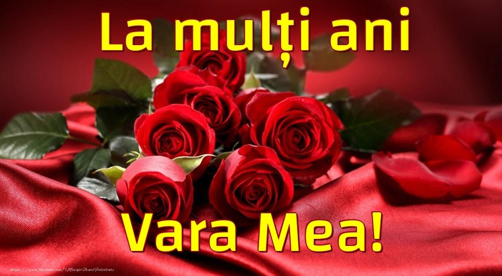 Felicitari frumoase de la multi ani pentru Verisoara | La mulți ani vara mea!
