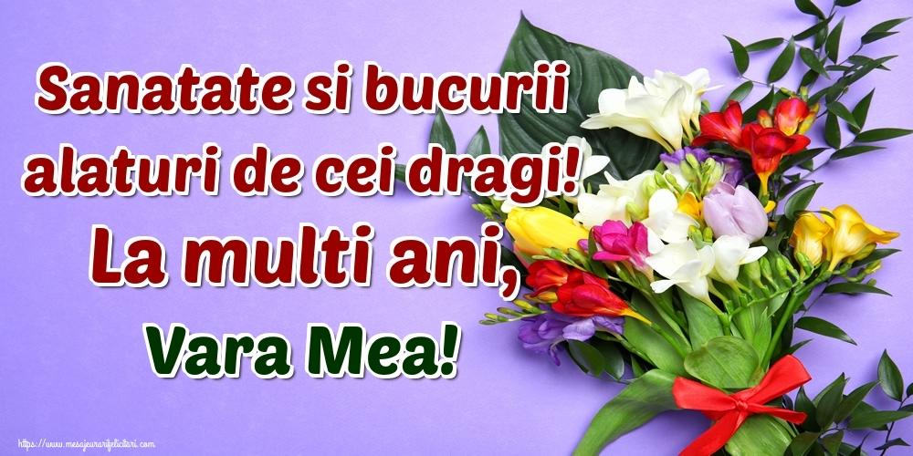 Felicitari frumoase de la multi ani pentru Verisoara | Sanatate si bucurii alaturi de cei dragi! La multi ani, vara mea!